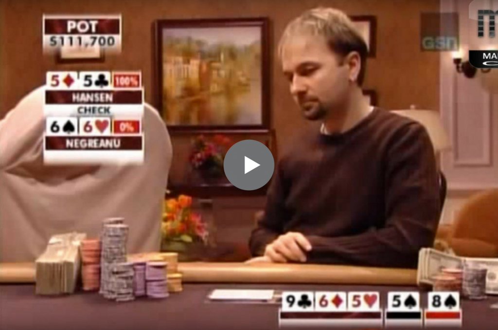 Sick Poker Hands – Now That's A Turn Card!