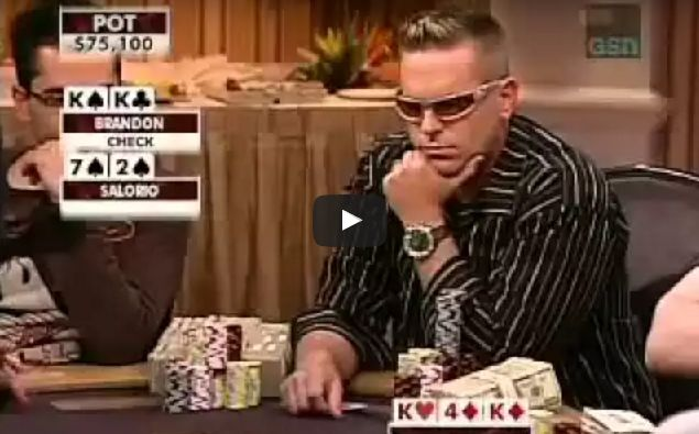 Sick Poker Hands – Wrong Time To Bluff
