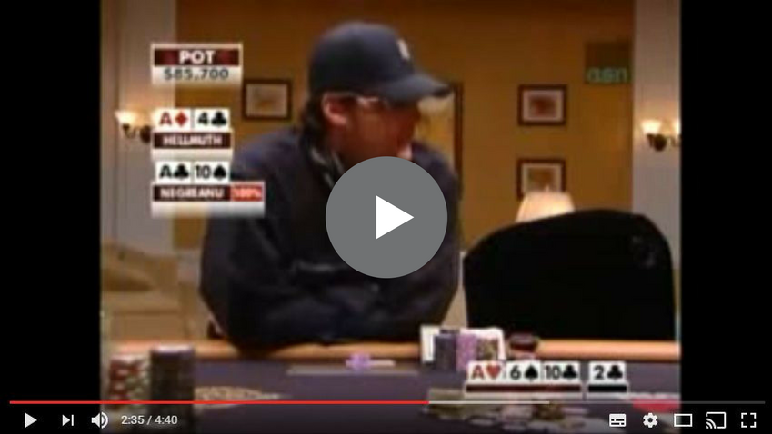 Sick Poker Hands – Talk Is Cheap