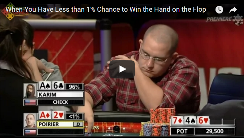 Sick Poker Hands – Miracles Happen