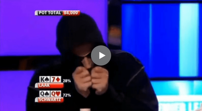 Sick Poker Hands – Phil Laak Sets The Trap