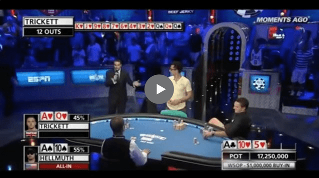 Sick Poker Hands – Can Hellmuth Dodge Half The Deck?