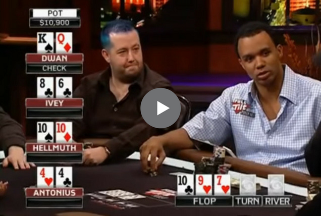 Sick Poker Hands – Phil Ivey Catching Fish