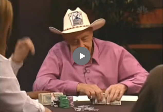 Sick Poker Hands – Doyle Brunson vs. Phil Hellmuth