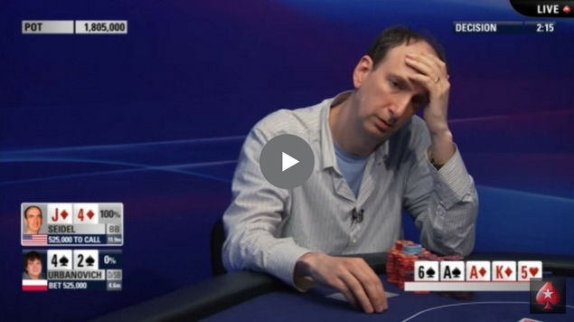 Sick Poker Hands – Hero Call