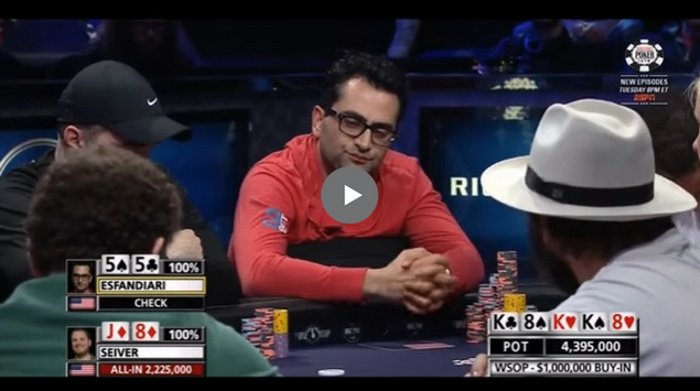 Sick Poker Hands – Million Dollar Bluff