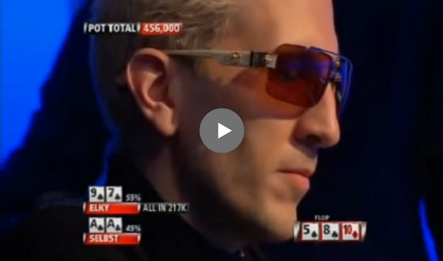 Sick Poker Hands – Straight Flush vs. Aces