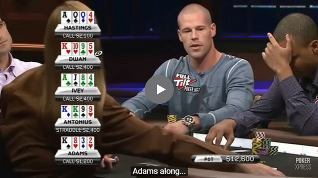Sick Omaha Hands – Crazy Players, Crazy Game