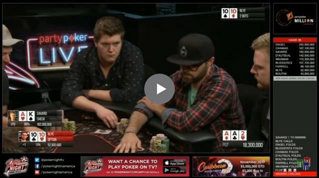 Sick Poker Hands – Rough Game