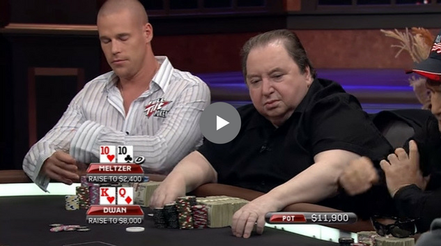 Sick Poker Hands – Dueling Straight Flush Draws