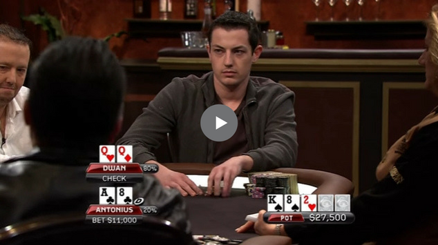 Sick Poker Hands – Tom Dwan vs. Patrik Antonius