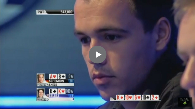 Sick Poker Hands – Running Into A Monster