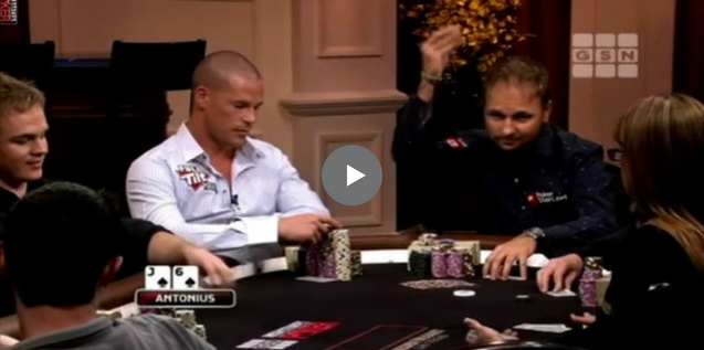 Sick Poker Hands – Straight Flush For Negreanu