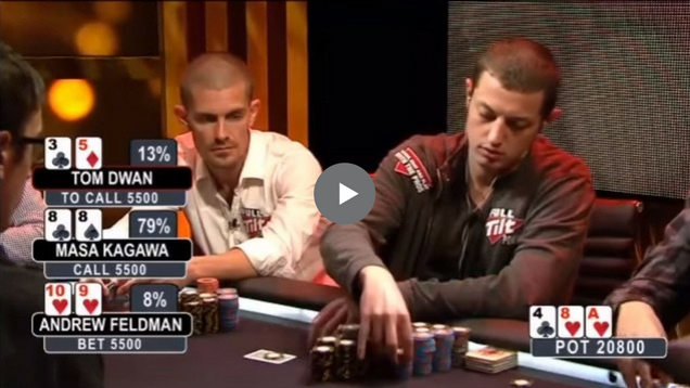 Sick Poker Hands – Dwan Gets Lucky