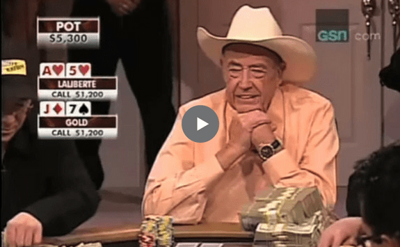 Sick Poker Hands – Brunson Over Hellmuth