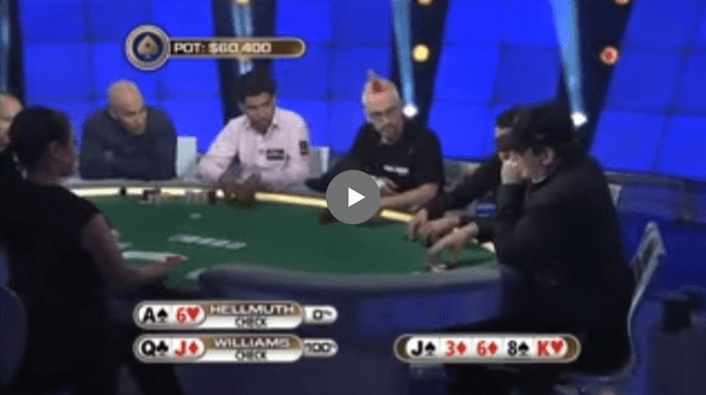 Sick Poker Hands  – 'HE'S A SCHOOL TEACHER!!!'