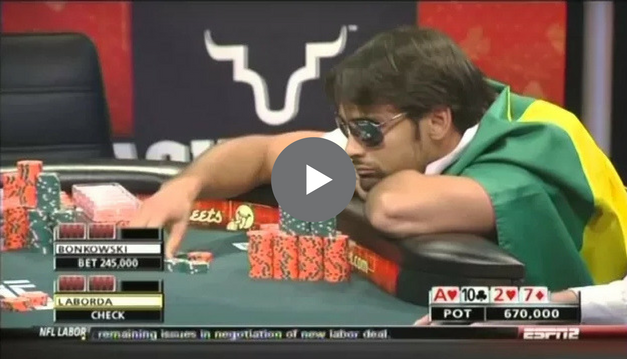 Sick Poker Hands – Phil Isn't Very Happy