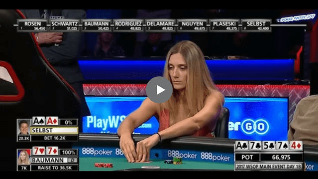 Sick Poker Hands –  Shocker At The WSOP
