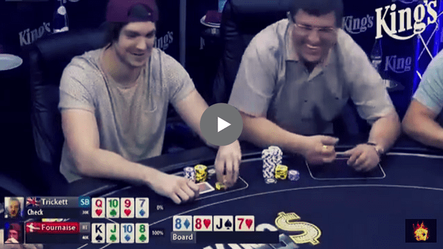 Sick Poker Hands – Mixed Cash Games At King's